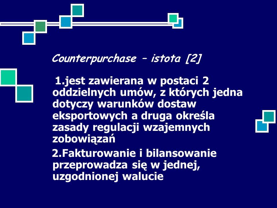 Counterpurchase – istota [2]
